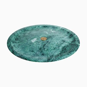 Räucherschale aus grünem Guatemala Marmor von Henry Wilson