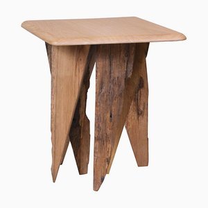 Ancient Normandy Oak New Designed Side Table by Timothée Musset