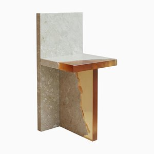 Kristallharz und Marmor, Fragment Chair, Jang Hea Kyoung