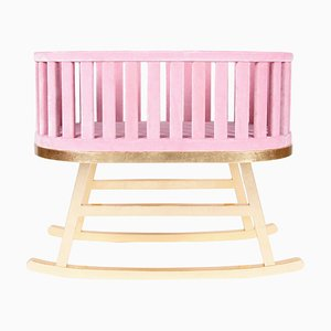 Pink Contemporary Cradle by Royal Stranger