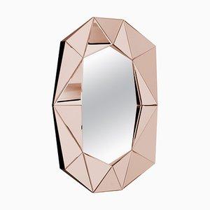 Specchio decorativo con diamanti