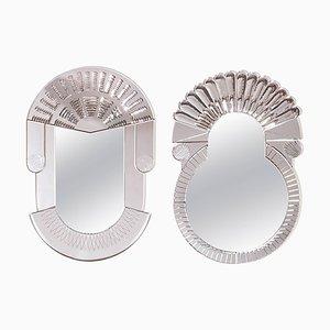 Nikolai Kotlarczyk Pair of Scena Murano Mirrors
