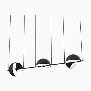 Lámpara colgante Triple Trapeze de Jette Scheib