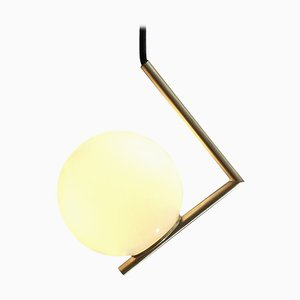 Solid Brass Geometric Pendant Lamp by Olek Vojtek