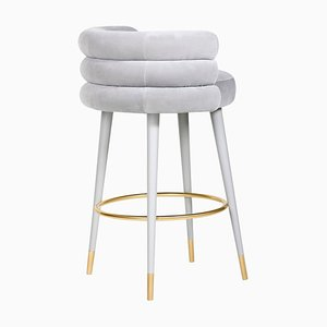 Marshmallow Counter Stool, Royal Stranger