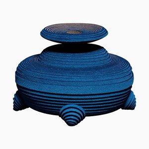 Blue Alchemy Vase by Siba Sahabi