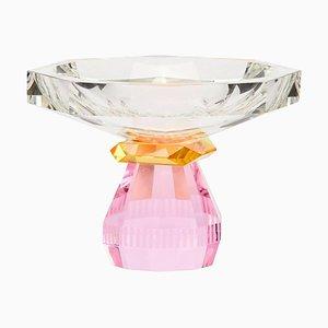 Scodella Madison in cristallo contemporaneo scolpito a mano