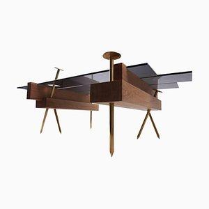 Skulpturaler Tisch, '' Etabli '' Signiert von Pierre Philippe