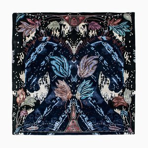 Wild Horses Contemporary Handwoven Rug