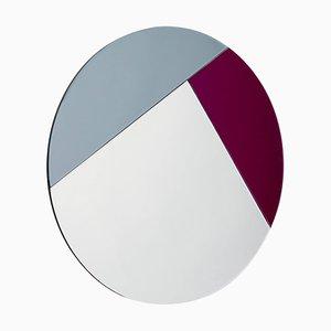 Bunter Spiegel im Nouveau Design