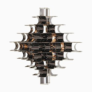 Black Cassiope Lighting by Max and Sebastien Sauze