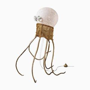 Escultura de lámpara de pie Octopus, Unique, Ludovic Clément D'armont