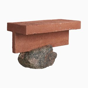 Table d'Appoint Sculptée &#39
