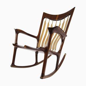 Schaukelstuhl, handgefertigt und gestaltet von Morten Stenbaek