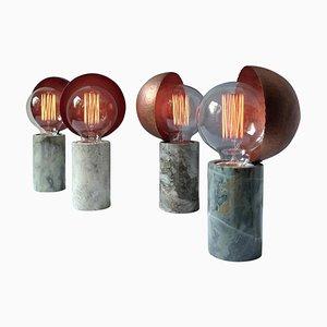 Lampes de Bureau en Marbre, Ponceuse Bottinga