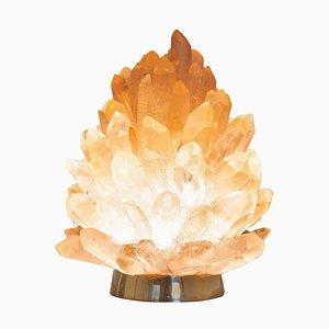 Einzigartige Rose aus Kristallglas in natürlicher Optik, Small Liberty ', Demian Quincke