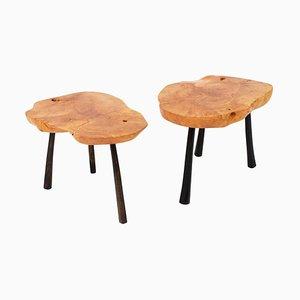 Einzigartige signierte Twin Tables von Jörg Pietschmann