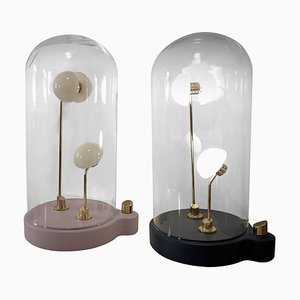 Pair of Lightings, Thierry Toutin's Little Gold ''Germes de Lux''
