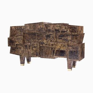 Cajonera original de madera de abedul de Werner Neumann