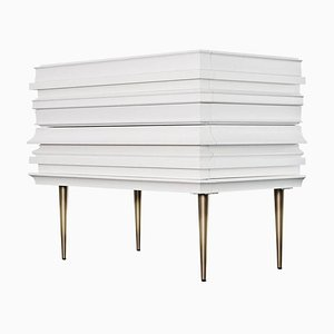 Luis Pons, Frame Nightstand White