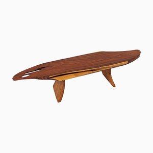 Signierter Palisander Tisch von Jörg Pietschmann