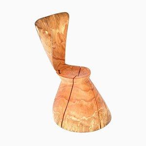 Einzigartiger signierter Stuhl von Jörg Pietschmann