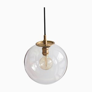 Emiter Brass Hanging Lamp, Jan Garncarek
