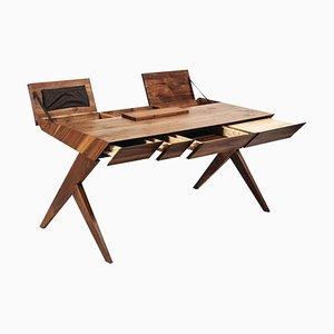 ''Locust'' Wood Desk, Alexandre Caldas