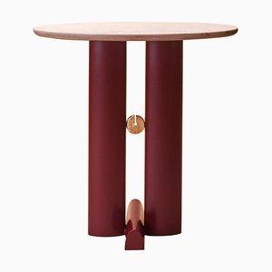 Bronze and Quartzite ''Alcova'' Side Table, Ilaria Bianchi