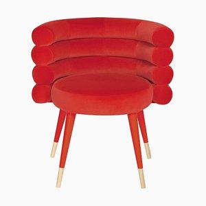 Chaise de Salon Marshmallow Rouge, Royal Stranger