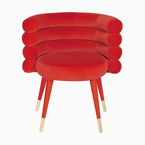 Red Marshmallow Dining Chair, Royal Stranger