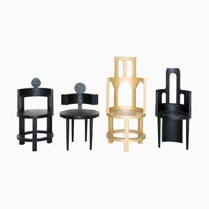 Skulpturale Stühle, Zimmer