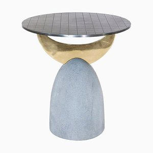 Half Moon Brass Table II, Rooms