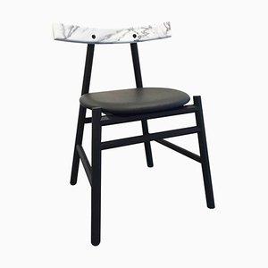 Marble ''Ronin'' Padded Chair, Frederik Werner & Emil Lagoni Valbak