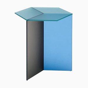 Satin Glass ''Isom Tall'' Coffee Table, Sebastian Scherer