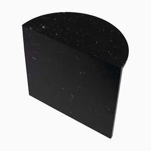 Tavolino da caffè in marmo nero '' Fifty Tall '', Sebastian Scherer