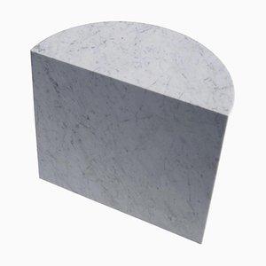 Weißer Marmor 'Fifty Tall' Couchtisch, Sebastian Scherer