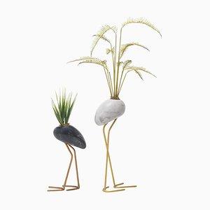 Sets von zwei Vasen, Kala Vasen, Kenneth Cobonpue