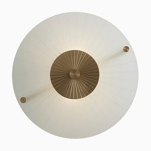 Maiko Ceiling Mounted Brass and Clear, Carla Baz