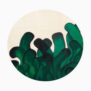 Green Anémone Rug François Dumas