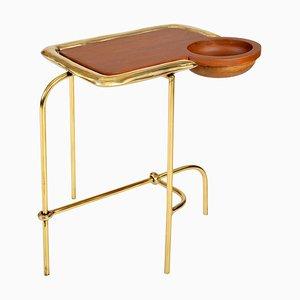 Brass Side Table, Compound I, Misaya