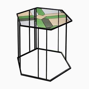 Stained Glass Coffee Table, Santissimi II, Serena Confalonieri