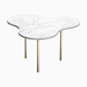 White Marble ''Camo'' Coffee Table - Sebastian Scherer
