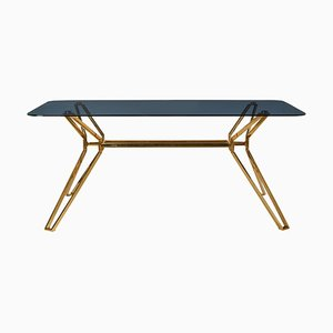 Modern Glass Dining Table, Pols Potten Studio