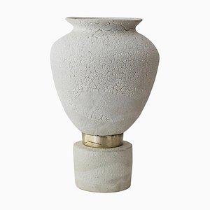 Glaze ''Isolated n.9'' Stoneware Vase, Raquel Vidal and Pedro Paz