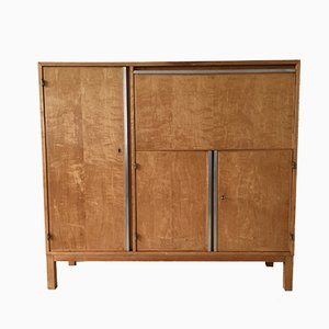 Mid Century Dutch Birch Cabinet
