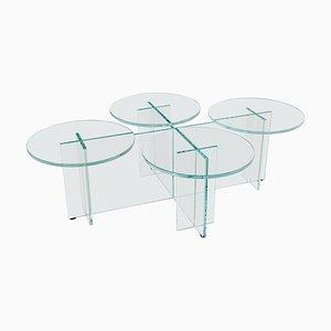 Glass ''Marshmallow'' Coffee Table, Giorgio Bonaguro