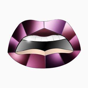 Specchio artistico a forma di bocca