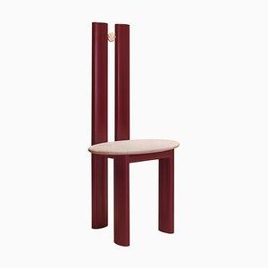 Bronze und Quarzit '' Alcova '' Stuhl, Ilaria Bianchi
