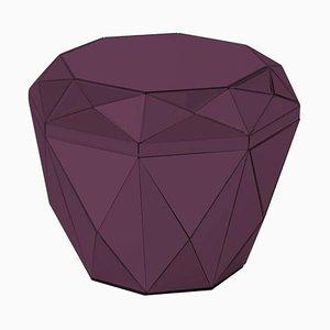 Tavolino da caffè Diamond Burgundy